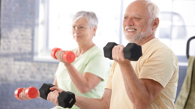 The Very Best Exercises for Old People