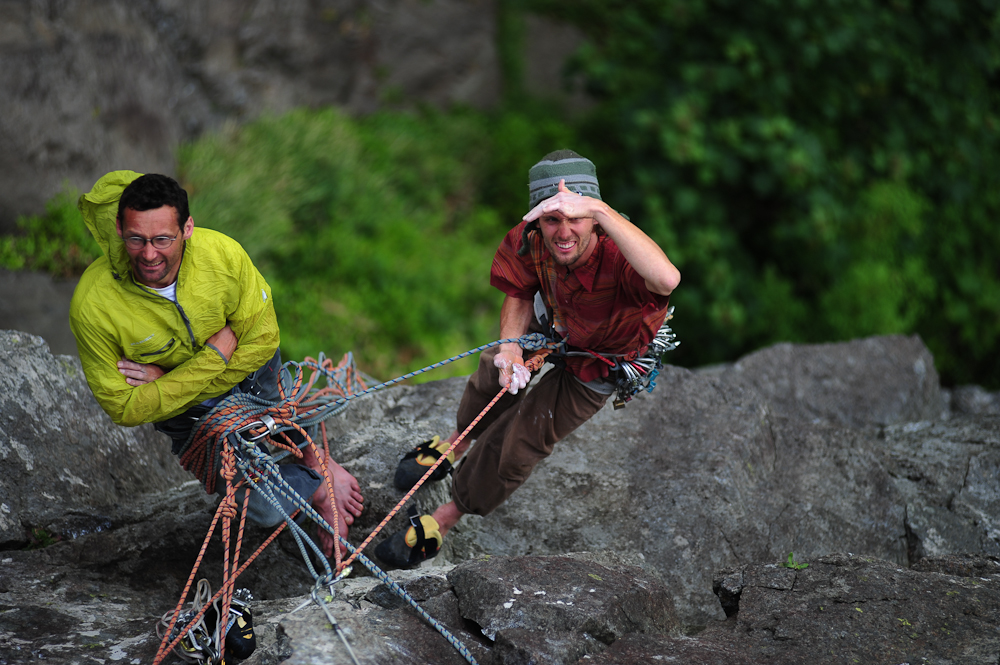Here is What You Should Do When You are Belaying in Multi Pitch